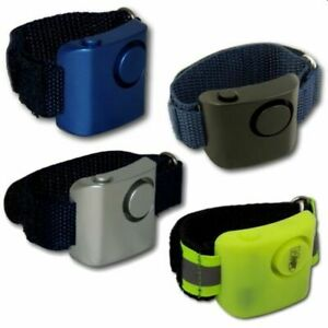 Minder Loud Wrist Worn Jogger Personal Panic Attack Rape Safety Security Alarm