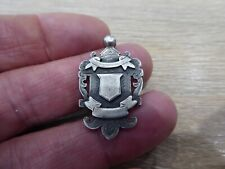 INTERESTING ANTIQUE SOLID SILVER FOB