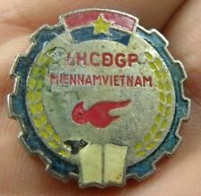 #43 Vietnam War Authentic NVA or VC LHCDGP Mien Nam Vietnam Pin