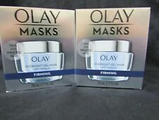 2 Pack Olay Masks Overnight Gel Mask w/ Vitamin A - Firming