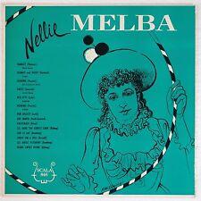 NELLIE MELBA: Sings SCALA 50s ORIG Opera VINYL LP NM