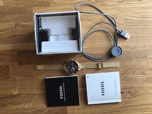 Fossil Hybrid Smartwatch HR Monroe Edelstahl Gold