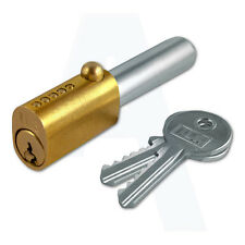 ILS fdm005-1 OVALE BULLET LOCK PER ROLLER Shutter DOORS fornito CON 2 CHIAVI