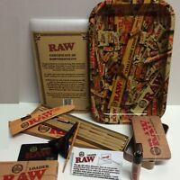 """RAWTHENTIC"" BUNDLE KIT - ROLLING TRAY+20 LEAN CONES+LOADER+Storage TIN+LIGHTER"