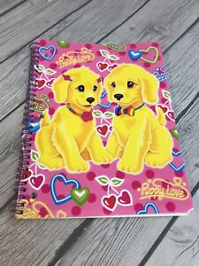 "Vintage LISA FRANK Casey 10.5 x 8"" Theme Notebook E10"
