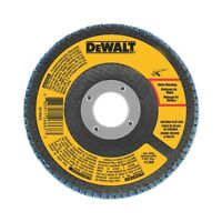 "DEWALT DWA8202 4-1/2"" x 5/8"" 60 Grit Zirconia T29 Flap Disc"