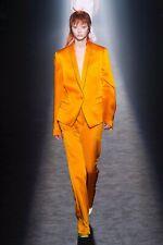 New Haider Ackermann High Waist Orange Trousers