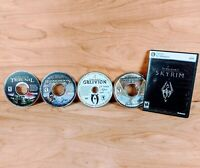 The Elder Scrolls PC DVD-ROM Software Video Game Bundle Lot