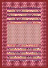 Colchas y edredones colchas color principal rojo 100% algodón