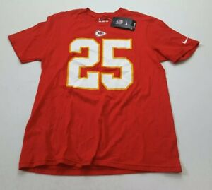 Nike Youth Kansas City Jamaal Charles #25 T Shirt Size L (14-16)