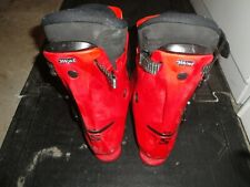 SALOMON MOGUL FORCE 9 INTEGRAL 28.5/10 US SKI BOOTS RED 355