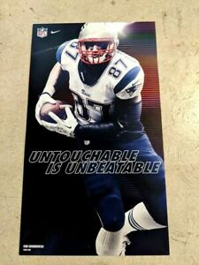 Lot of 5 - Rob GRONK Gronkowski Nike Advertising Poster New England Patriots NFL