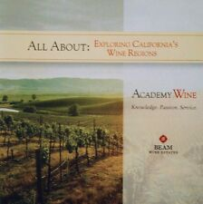 ACADEMY WINE - ALL ABOUT: EXPLORING CALIFORNIA'S WINE REGIONS - 2 CD, 2006