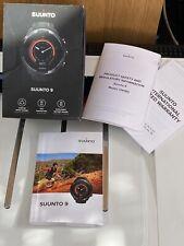 SUUNTO 9 BARO + HR BELT GPS + Docking USB Hiking cycling Multisport watch
