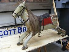 LOVELY OLD WOODEN FAIRGROUND / ROCKING HORSE, 1930's
