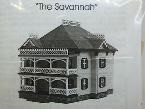 Dollhouse Kit 1/144 Scale - The Savannah House