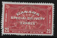 Canada Scott #E4, Single 1930 Complete Set FVF Used
