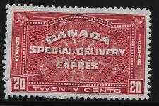 Canada Scott #E4, Single 1930 Complete Set FVF Used
