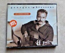 """CD AUDIO MUSIQUE / GEORGES BRASSENS """"LES COPAINS D'ABORD"""" COFFRET 2XCD COMPILE"""