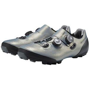 Shimano S-Phyre XC9 Mountain Bike Shoes EU 43 US Men 8.9 Silver 2 Bolt XC901 BOA