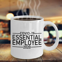 Essential Employee 2020 Ceramic Coffee Mug Tea Cup White