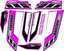 Yamaha banshee full graphics kit