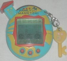 Bandai Tamagotchi Game Family Mametchi Light Blue, Yellow & Red 2004