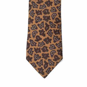 Designer Guy LaRoche Paris - Mens Tie Paisley Design - Tricel - Australian Made