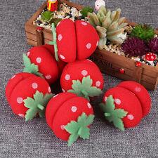 Hair Care 6Pcs/Set Strawberry Balls DIY Tool Soft Sponge Roll Curlers Rollers