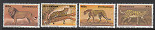 ZIMBABWE : 1992 Wildlife Conservation-Big Cats set SG 822-5 NMH