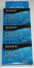 Sony - Dvm60Prr 60-min Dvc Premium-Grade Digital Video Cassette 3 Pack mini Dv