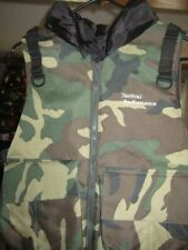 New Tactical Performance military camouflage paintball padded vest adult size