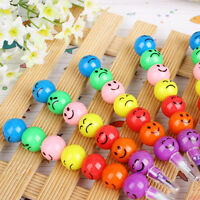 2PC 7 Colors Cute Stacker Swap Smile Face Pencil Children Drawing Gift Quality P