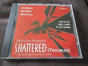 "CD BOF ""SHATTERED (TROUBLES) de Wolfgang Petersen, avec Tom Berenger"""