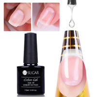 7.5ml Clear Pink  Poly Builder Uv Gellack Quick Extension Nagellack UR SUGAR