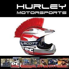 PC RACING MX ATV Helmet Mohawk Motorcycle - RED - PCHMSCRED (57-9971R)