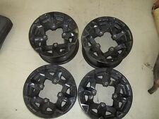 2012 CAN AM RENEGADE 1000 WHEELS SET 12 IN WHEELS FRONT REAR WHEEL