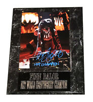 WWE FINN BALOR THE DEMON KING HAND SIGNED AUTOGRAPHED PHOTO PLAQUE WITH COA 2