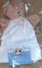 2 DMC Cross Stitch Glove Puppets with stitchable Aida panels