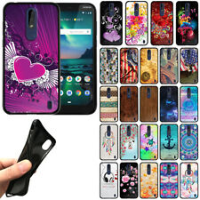 For Nokia 3.1 Plus 2019 6 inch Cricket TPU Black Silicone Soft Gel Cover Case