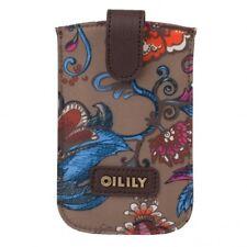 Oilily Cas De Téléphone Portable Sea of Flowers Smartphone Pull Case Bronze