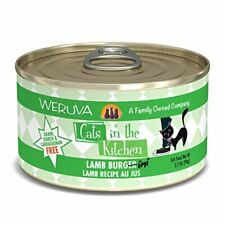 Weruva Cats In The Kitchen, Lamb Burger-Ini With Lamb Au Jus Cat Food, 3.2Oz Can