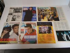 DURAN DURAN - PICTURES, ARTICLES, CLIPPINGS - 1983 - 1986
