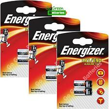 6 x Energizer LR1 MN9100 1.5V Alkaline Batteries 910A E90 KN AM5 Security Remote