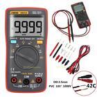 AN8008 True-RMS 9999 Auto Range Digital LCD Multimeter Voltmeter Ammeter DC AC