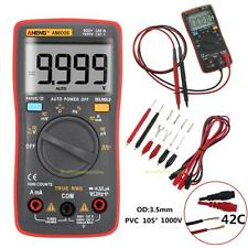 AN8008 True-RMS Digital Multimeter 9999 Counts Square Wave Voltage Ammeter AC DC