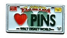 Disney Pin: WDW Cast Lanyard Collection 4 - License Plates (Love Pins)