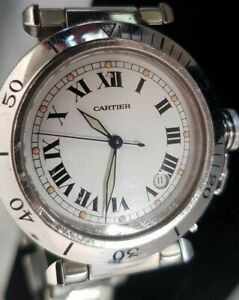 Cartier Pasha Swiss Made Original Men's Watch , R40207372 SN Pristine NO RESERVE