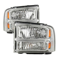 Ford 99-04 F250 F350 SuperDuty/Excursion Convertion Harley Style Headlights