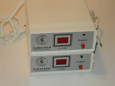 vintage LOT 2 PAMATRON Medizin-TECHNIK Geräte 10Hz LGA germany APPAREIL FREQUENZ